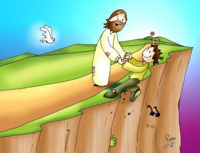confiar en Jesús, tener fe en Él.