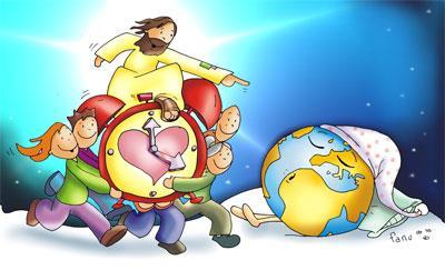 ESTEMOS ATENTOS A LA LLEGADA DE JESUS