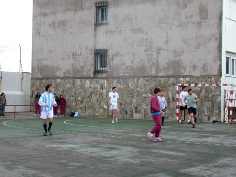 Una imagen del partido