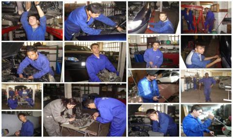 Taller de ayudante técnico en mantenimiento de vehículos