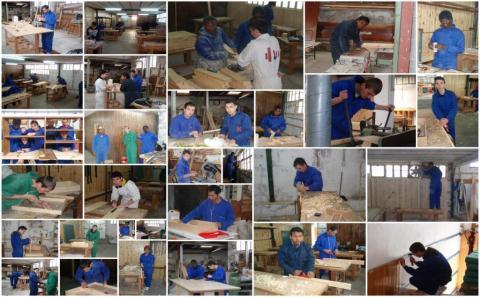 Taller de ayudante técnico en carpintería y mueble